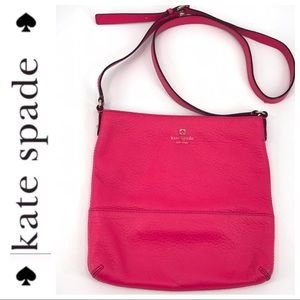 💕SALE💕 Kate Spade Bright Pink Crossbody Bag